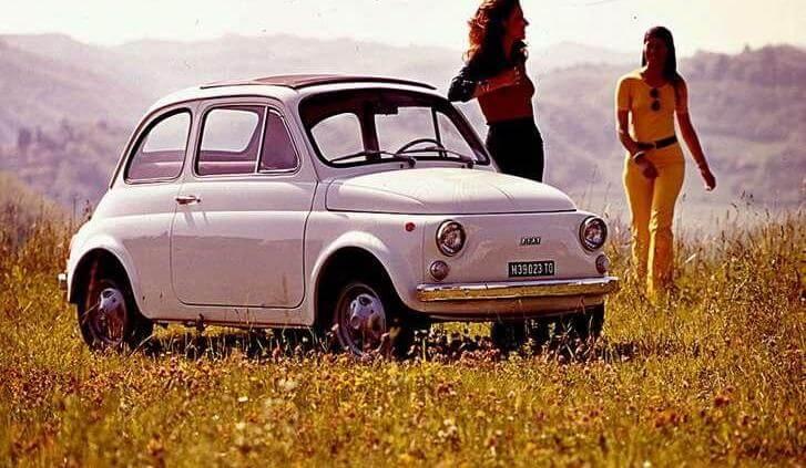 Pierwszy Fiat 500