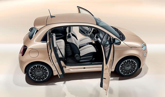 Nowy Fiat 500e 3+1