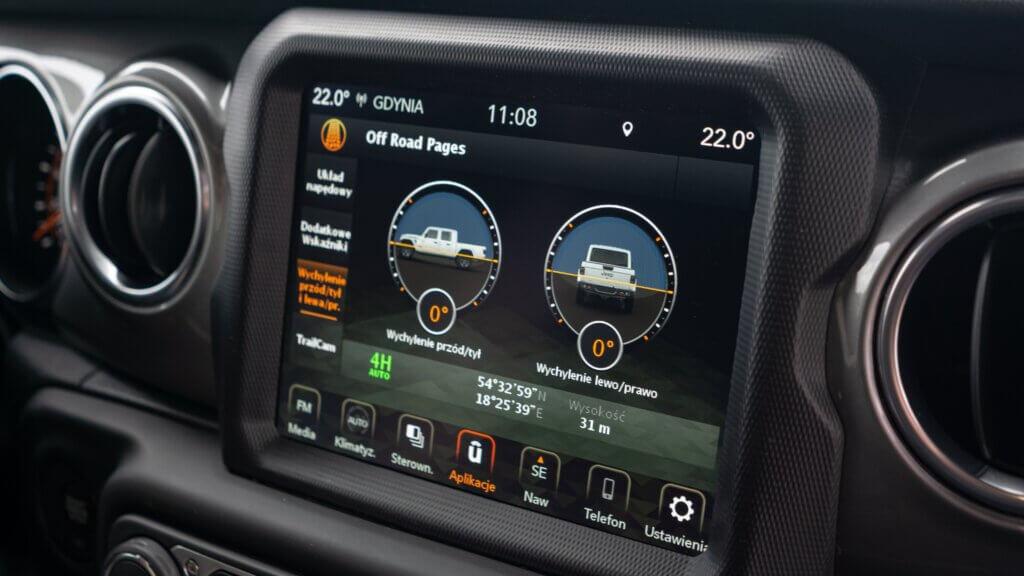 System Multimedialny Uconnect Jeep Gladiator