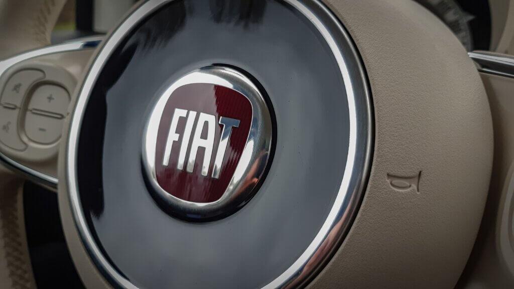 Fiat 500 - koło kierownicy