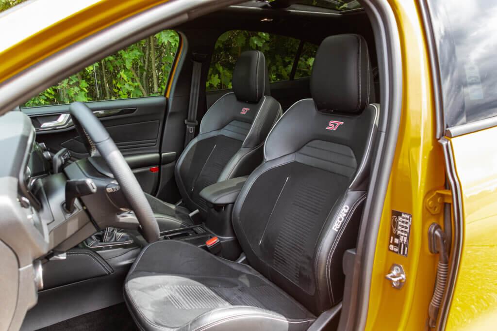 Fotele Recaro Ford Focus ST