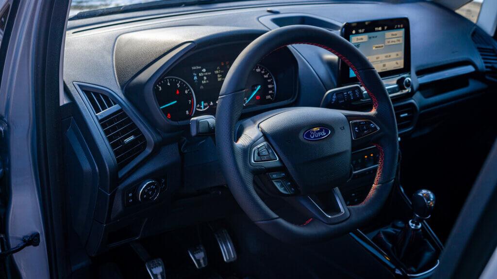 Wnętrze Forda EcoSport