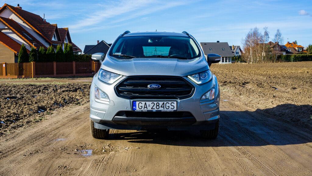 Przód Forda EcoSport