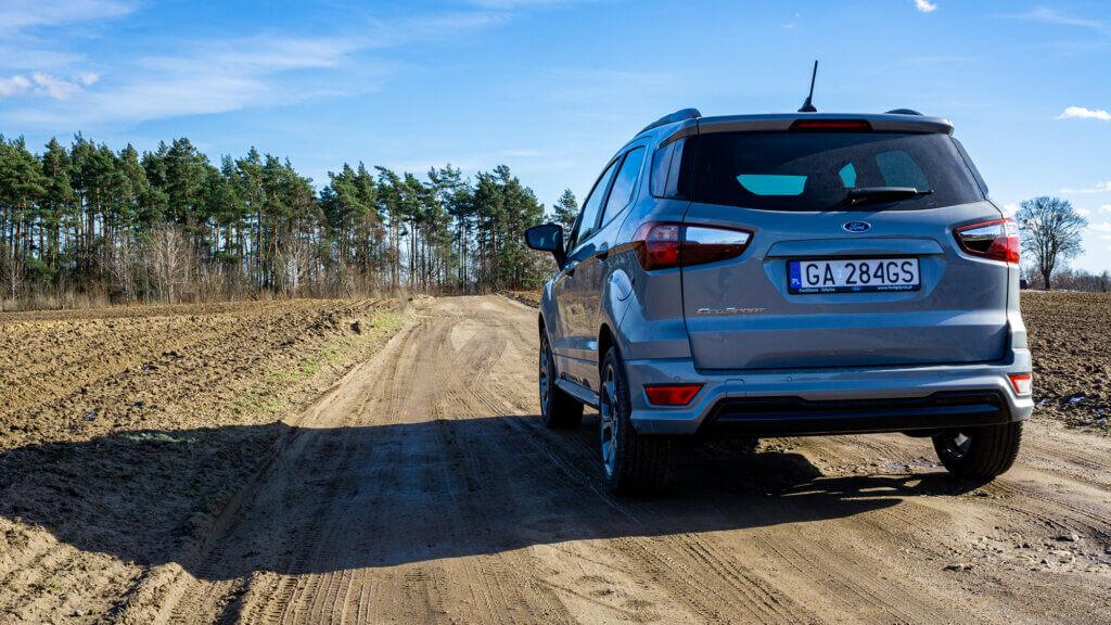 Tył Forda EcoSport