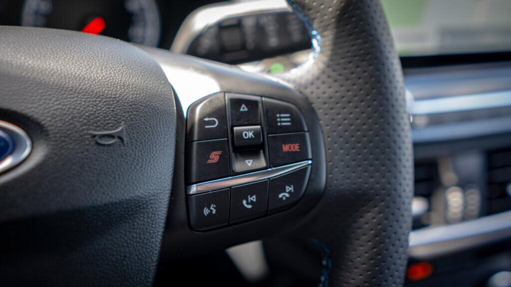 Kierownica Ford Fiesta ST Azure Blue