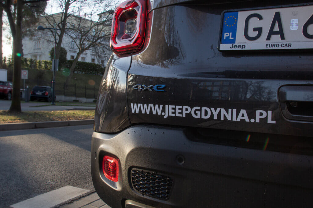 Jeep Renegade 4xe Limited tył