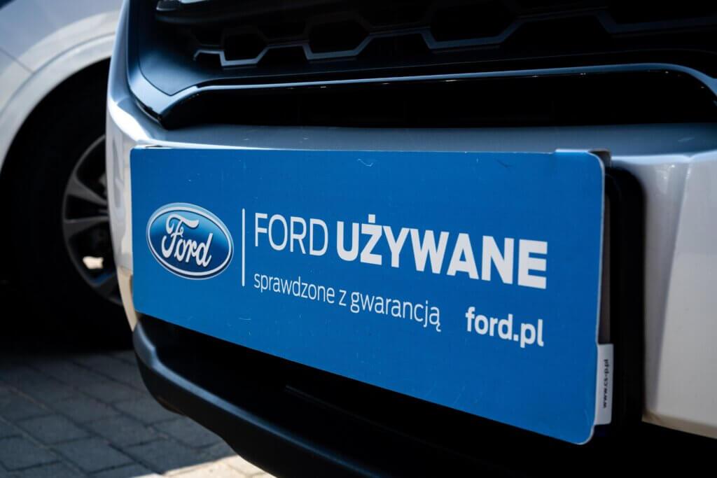 Oznaczenie samochodu w programie Ford Używane