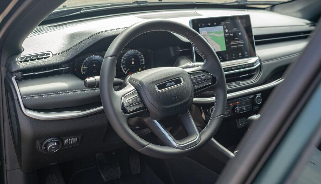 Wnętrze Nowy Jeep Compass