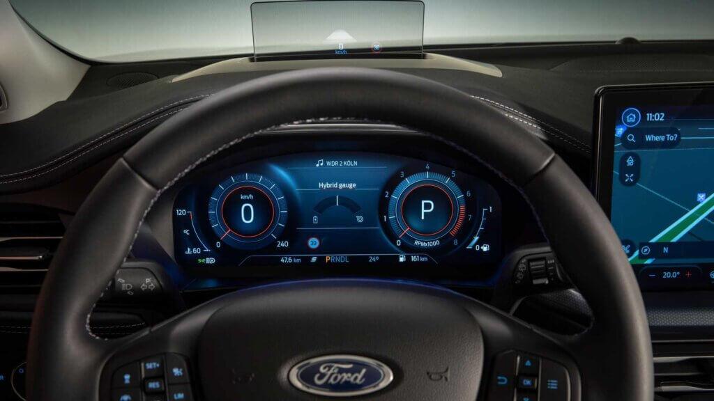 Wirtualne zegary Ford Focus 2022